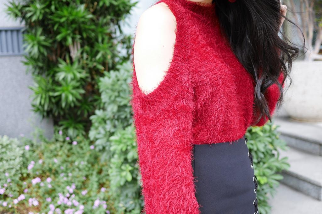新年時尚穿搭紅運大發!除夕~初六一週穿搭_2除夕.JPG