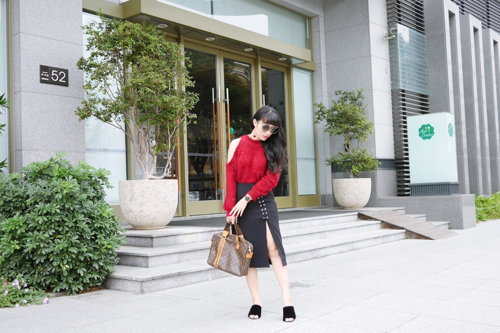 新年時尚穿搭紅運大發!除夕~初六一週穿搭_1除夕.JPG