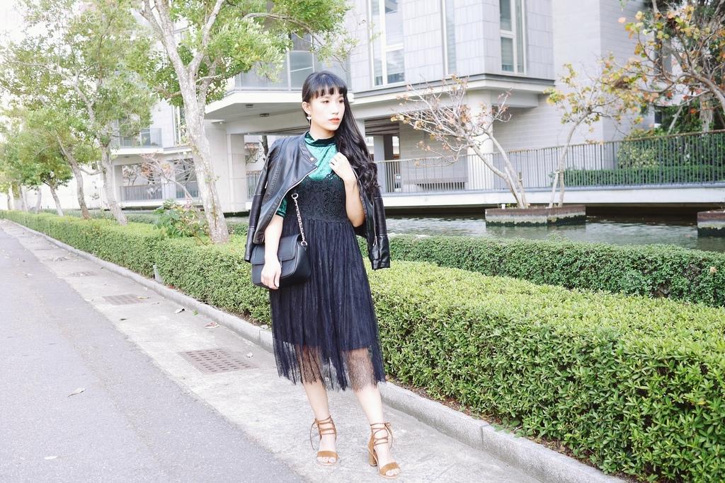 早春的復古綠 私服穿搭 lookbook柯蘿依1.JPG