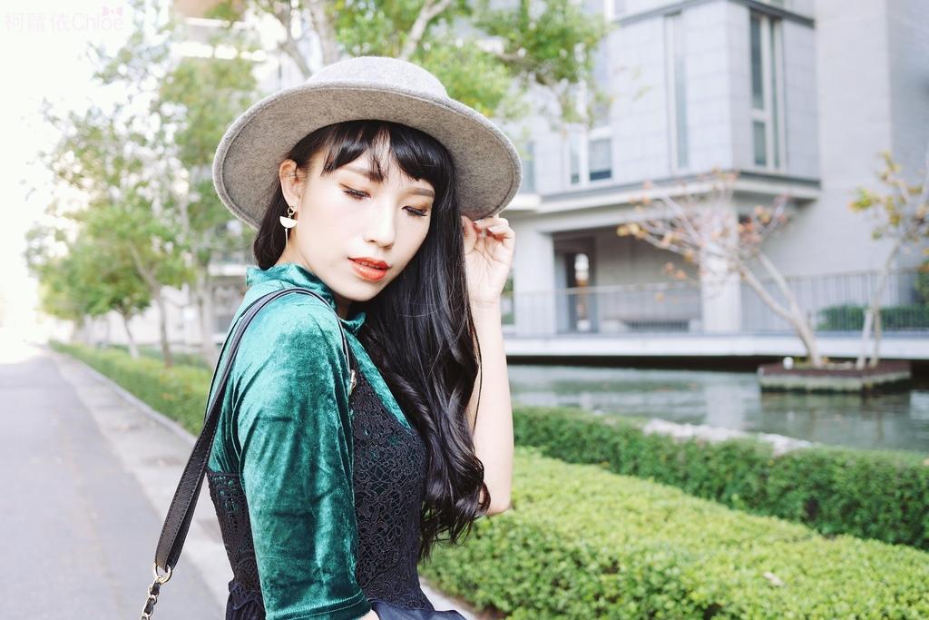 早春的復古綠 私服穿搭 lookbook柯蘿依5.JPG
