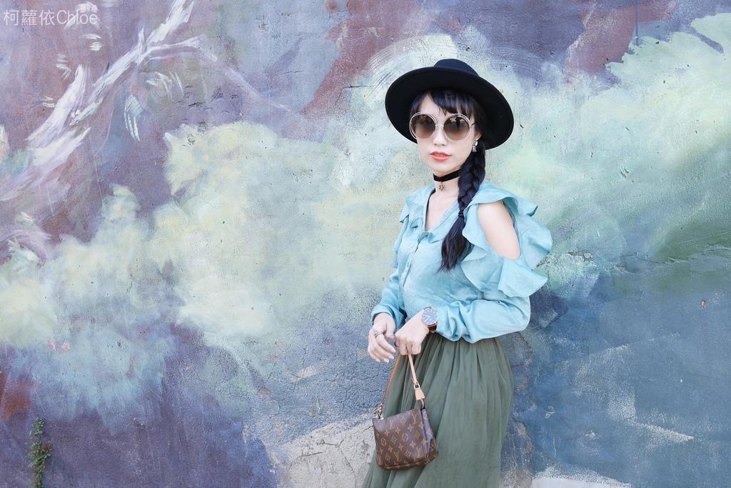 早春的復古綠 私服穿搭 lookbook柯蘿依7.JPG
