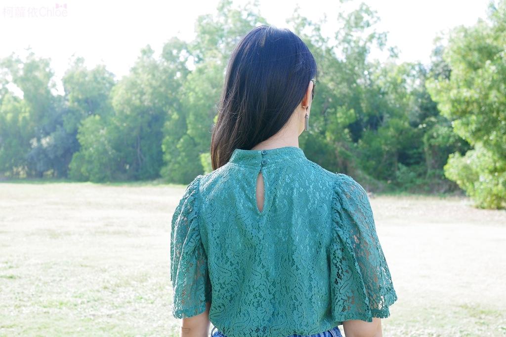 早春的復古綠 私服穿搭 lookbook柯蘿依15.JPG