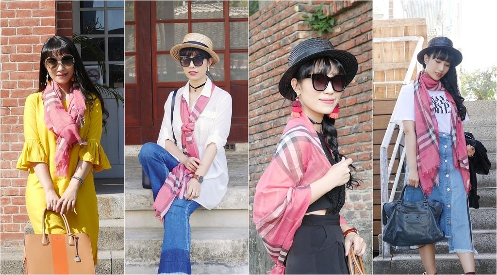 burberry輕盈格紋羊毛絲綢圍巾 四種綁法穿搭分享.jpg