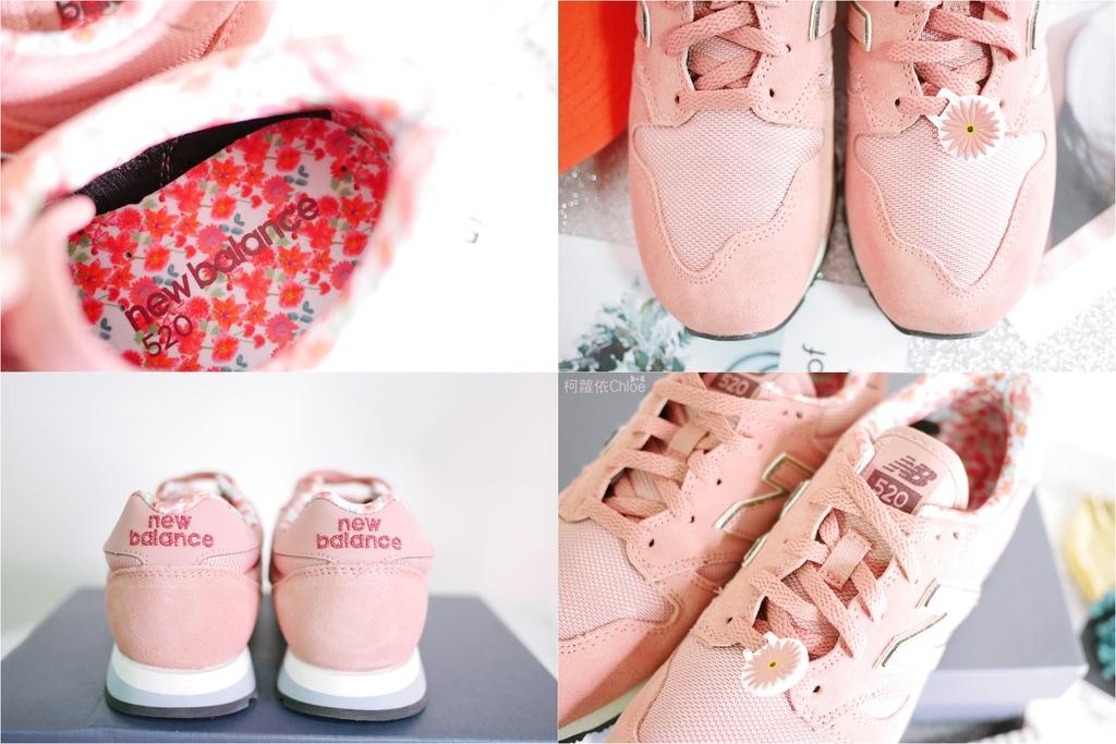微甜輕運動時尚穿搭 New Balance 520 復古運動鞋 女鞋 粉紅 WL520AA_4.jpg