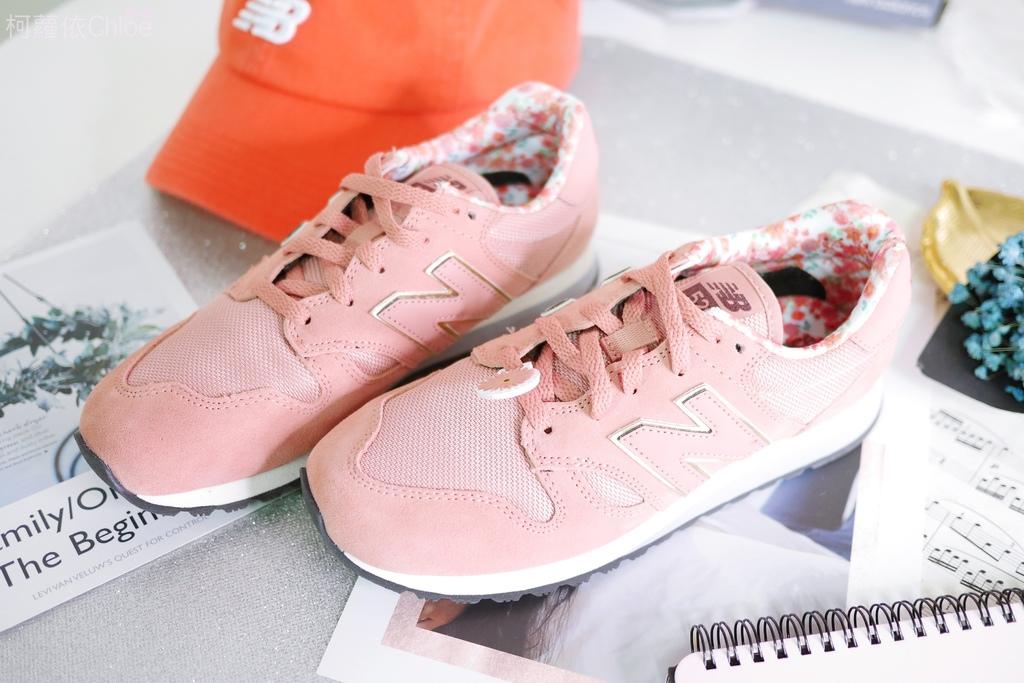 微甜輕運動時尚穿搭 New Balance 520 復古運動鞋 女鞋 粉紅 WL520AA_2.JPG