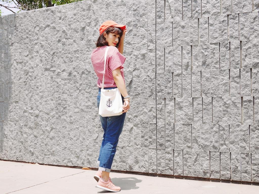 微甜輕運動時尚穿搭 New Balance 520 復古運動鞋 女鞋 粉紅 WL520AA_9.JPG