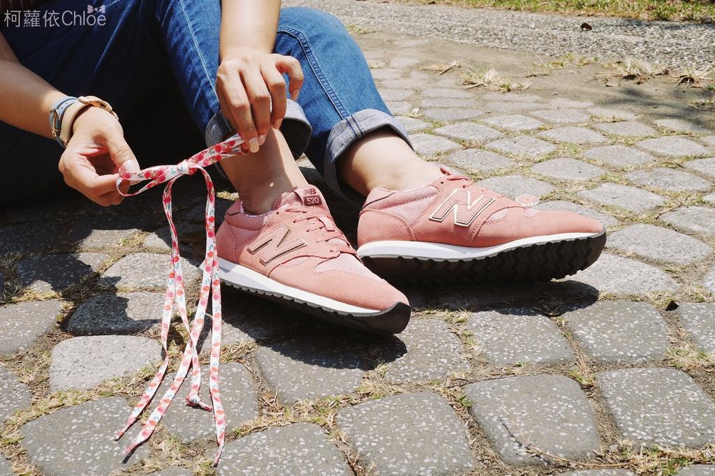 微甜輕運動時尚穿搭 New Balance 520 復古運動鞋 女鞋 粉紅 WL520AA_11.JPG