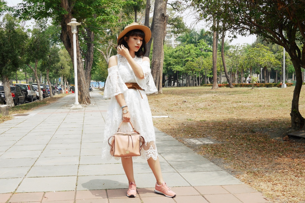 微甜輕運動時尚穿搭 New Balance 520 復古運動鞋 女鞋 粉紅 WL520AA_13.JPG