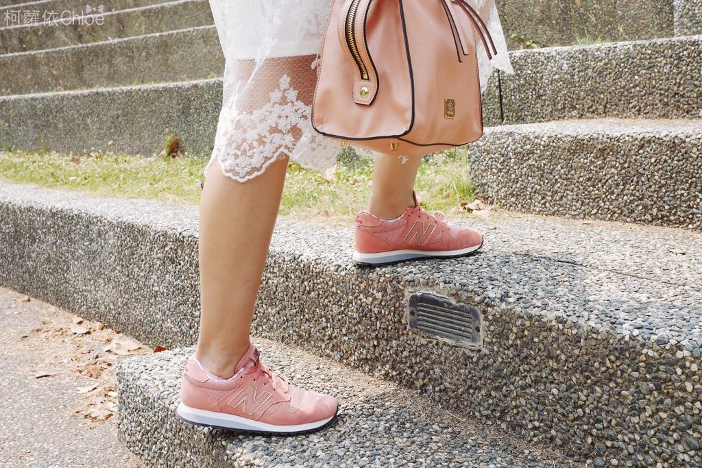 微甜輕運動時尚穿搭 New Balance 520 復古運動鞋 女鞋 粉紅 WL520AA_20.JPG