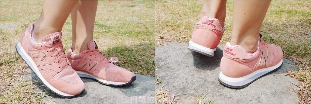 微甜輕運動時尚穿搭 New Balance 520 復古運動鞋 女鞋 粉紅 WL520AA_22.jpg