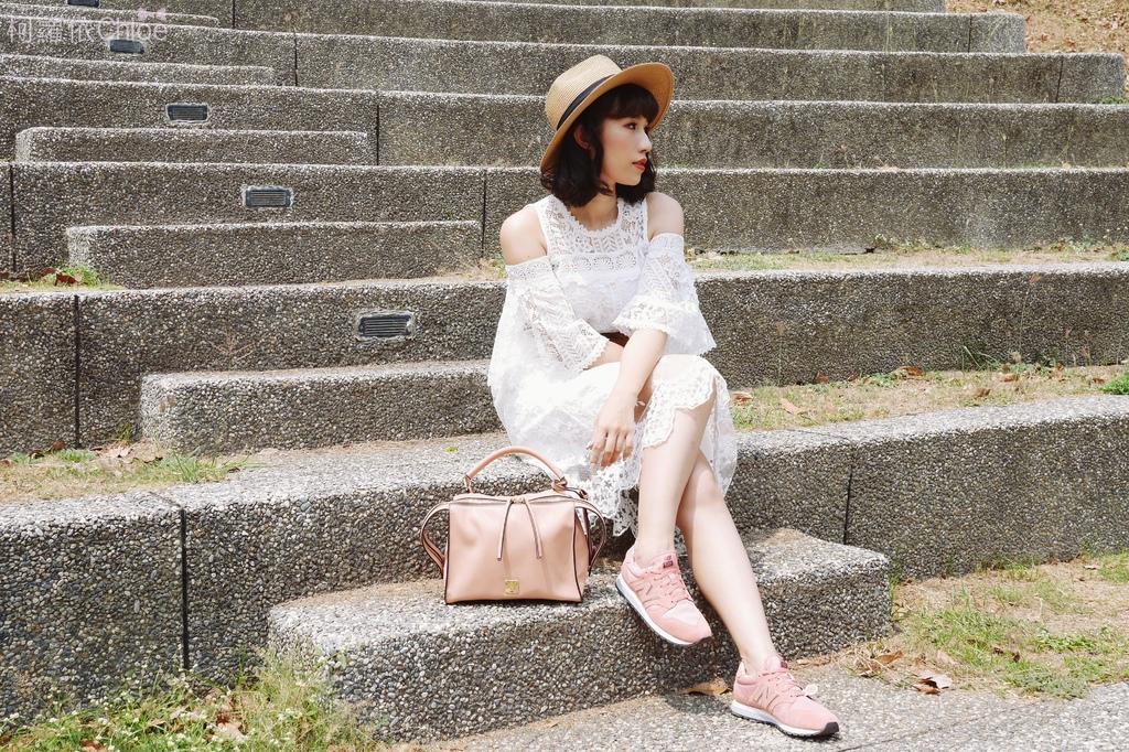 微甜輕運動時尚穿搭 New Balance 520 復古運動鞋 女鞋 粉紅 WL520AA_21.JPG
