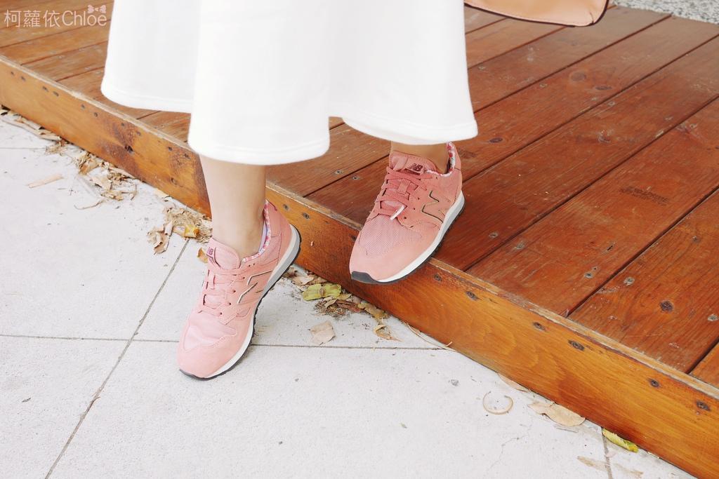 微甜輕運動時尚穿搭 New Balance 520 復古運動鞋 女鞋 粉紅 WL520AA_27.JPG