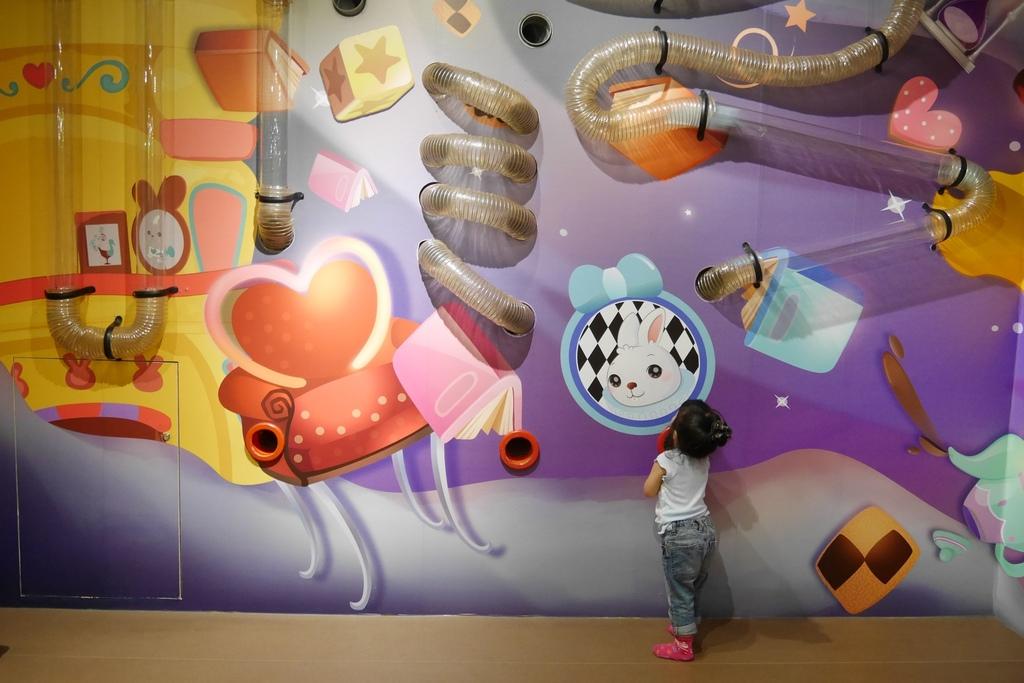 親子景點 親子樂園推薦 玩中學室內遊樂園 騎士堡 台南愛麗絲的家_68.JPG