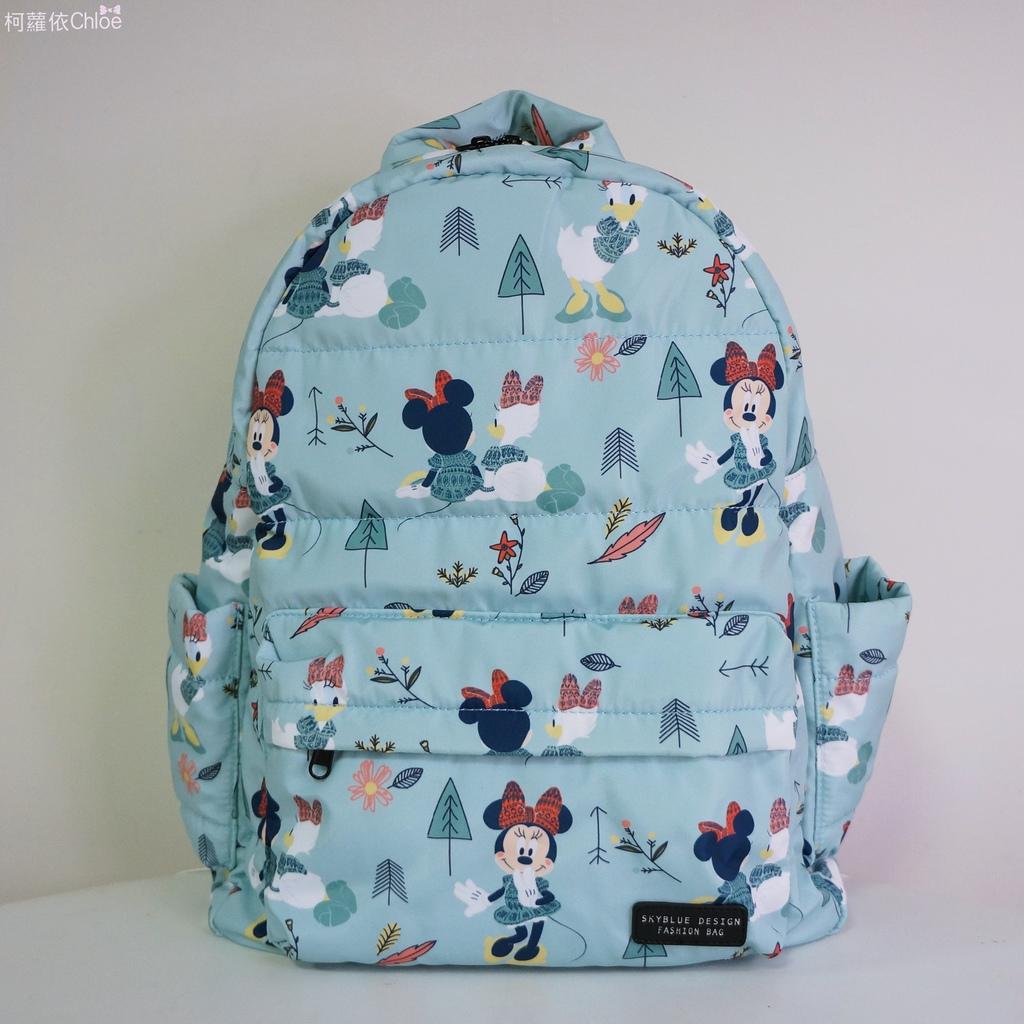 天藍小舖 DIsney 迪士尼親子包天藍小舖 米妮黛西好朋友寶貝多功能後背包2.JPG