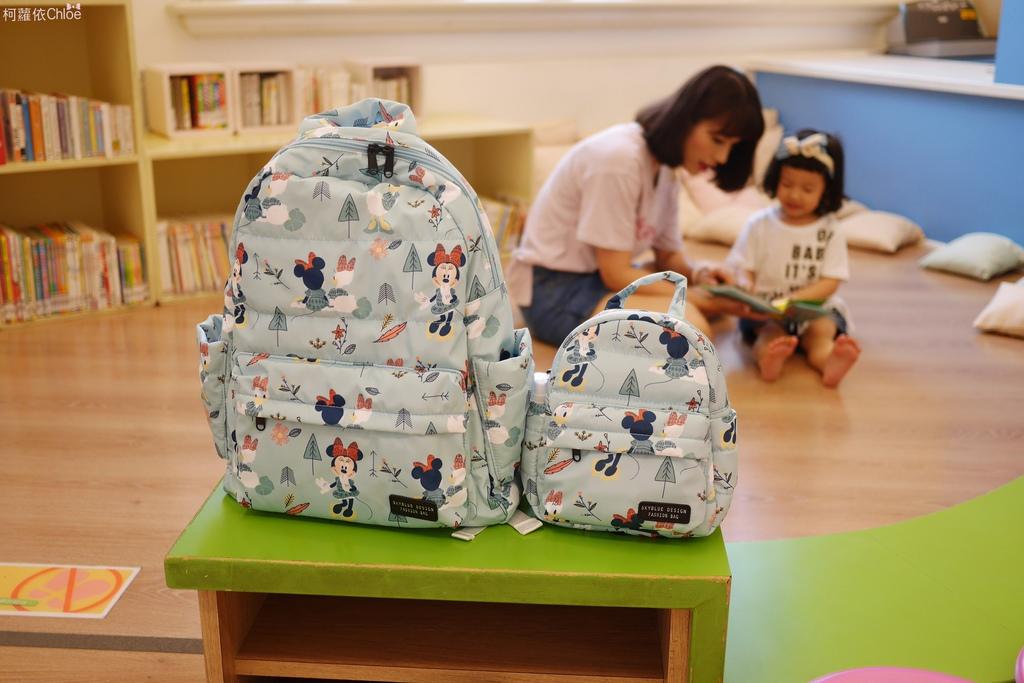 天藍小舖 DIsney 迪士尼親子包天藍小舖 米妮黛西好朋友寶貝多功能後背包1.JPG
