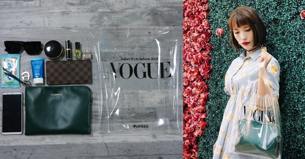 VOGUE 8月號PVC時尚透明手提袋 今年時尚單品必入手.jpg