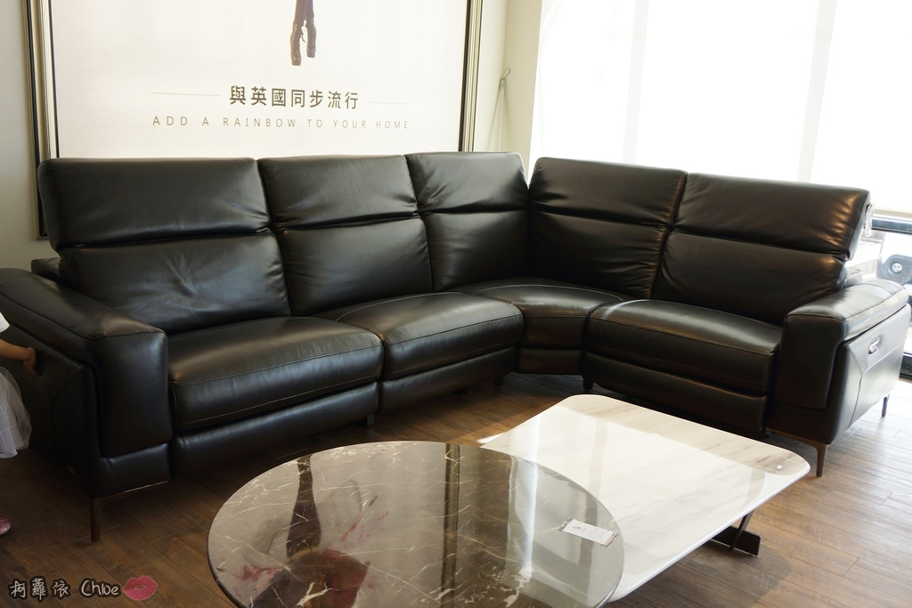 高雄沙發 歐美流行全牛皮沙發 義大利皮革電動沙發就在三商傢俱5.JPG