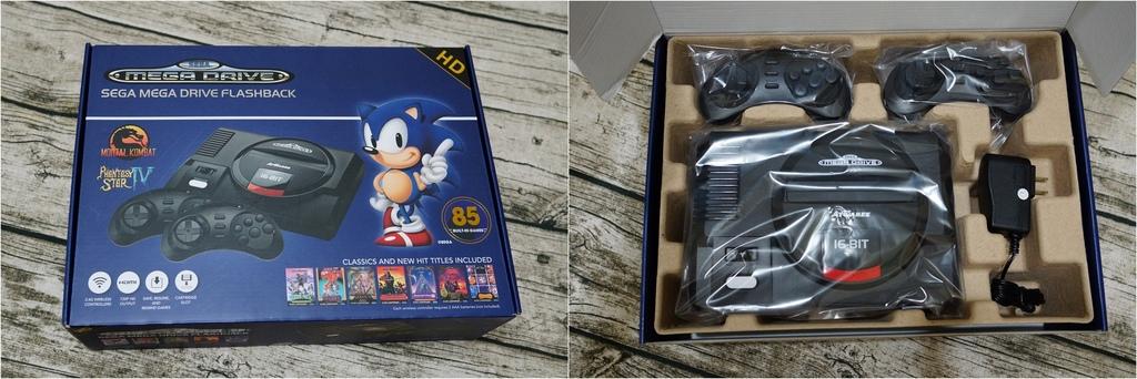 回味童年的 SEGA MD 復古遊戲機 無線控制器超好玩!地點不設限電視遊樂器 高畫質輸出3.jpg