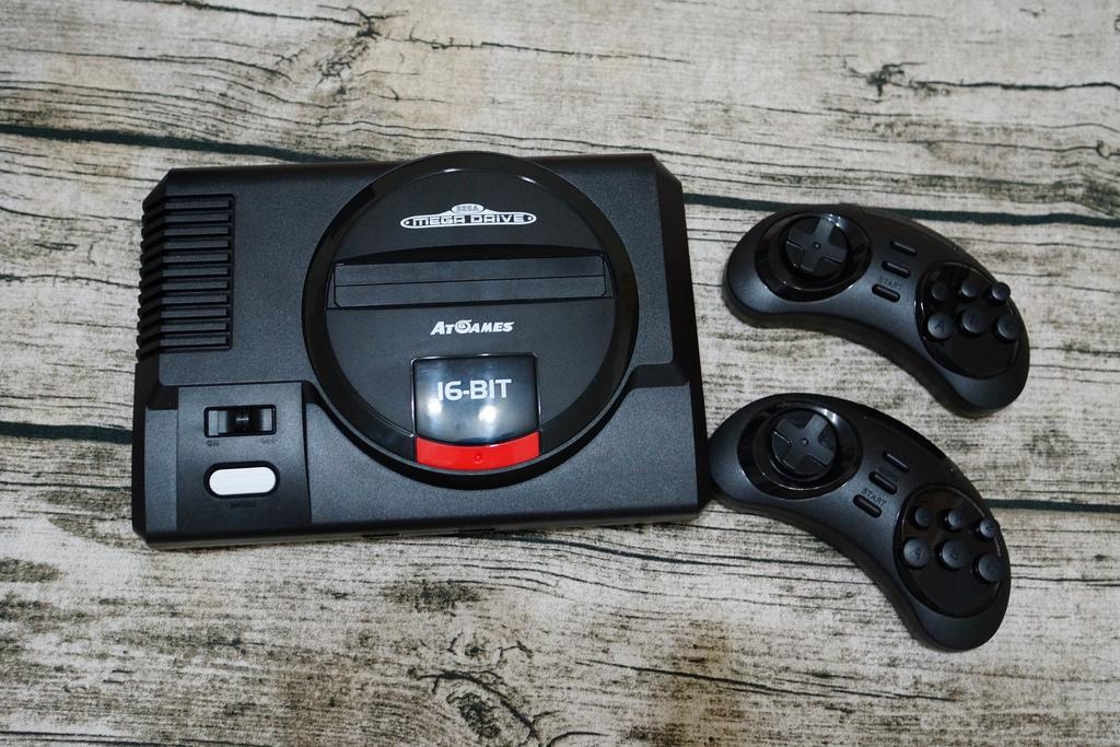 回味童年的 SEGA MD 復古遊戲機 無線控制器超好玩!地點不設限電視遊樂器 高畫質輸出11.JPG
