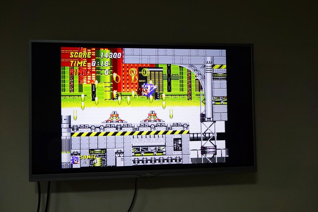 回味童年的 SEGA MD 復古遊戲機 無線控制器超好玩!地點不設限電視遊樂器 高畫質輸出22.JPG