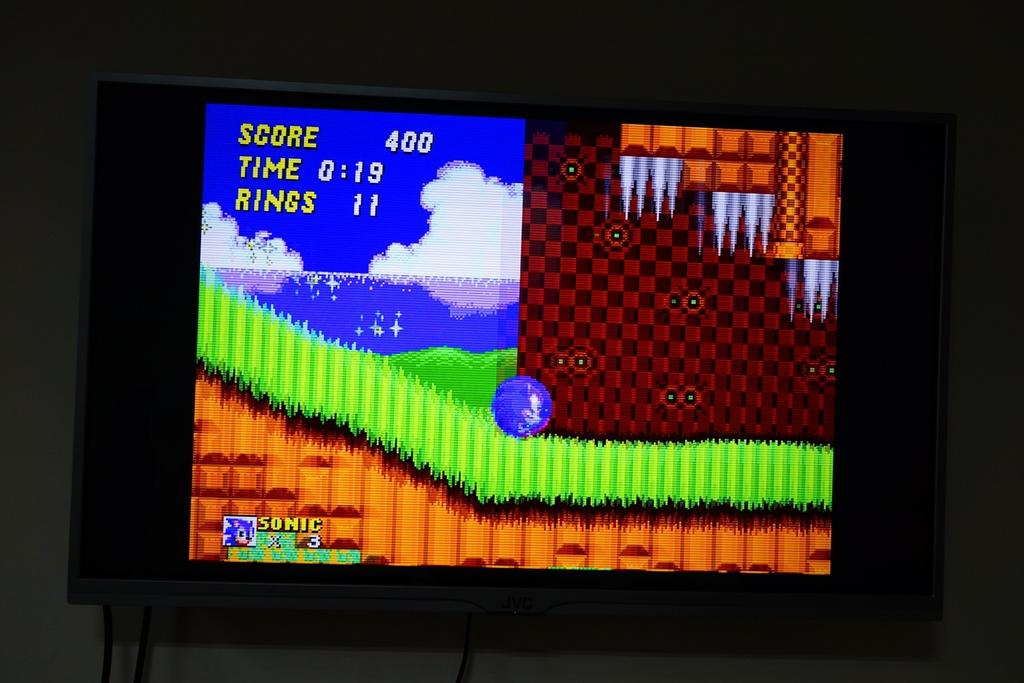 回味童年的 SEGA MD 復古遊戲機 無線控制器超好玩!地點不設限電視遊樂器 高畫質輸出21.JPG