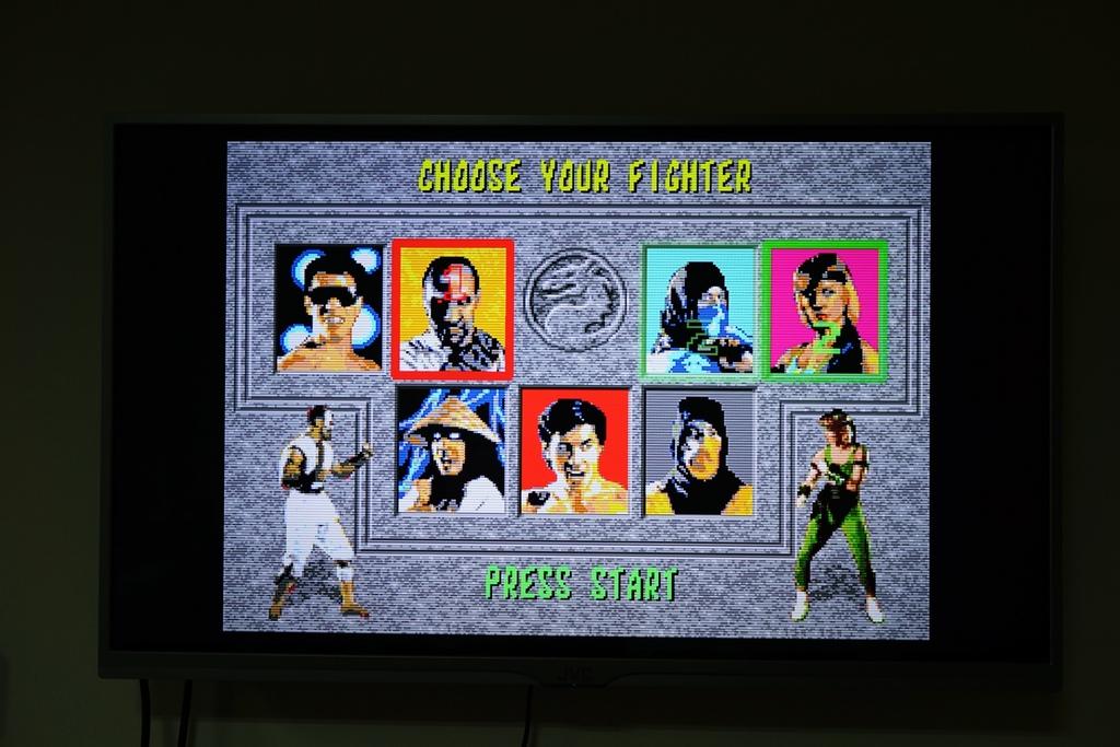 回味童年的 SEGA MD 復古遊戲機 無線控制器超好玩!地點不設限電視遊樂器 高畫質輸出27.JPG