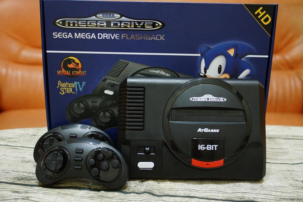 回味童年的 SEGA MD 復古遊戲機 無線控制器超好玩!地點不設限電視遊樂器 高畫質輸出29.JPG