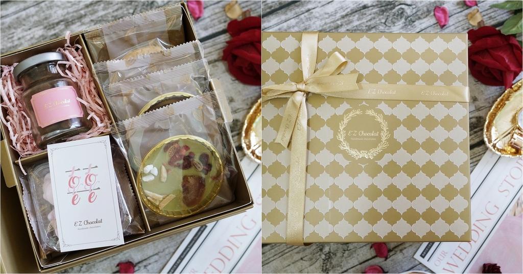 喜餅 E%5Cz Chocolat 法式手工囍餅 客製化金色禮讚囍餅禮盒.jpg