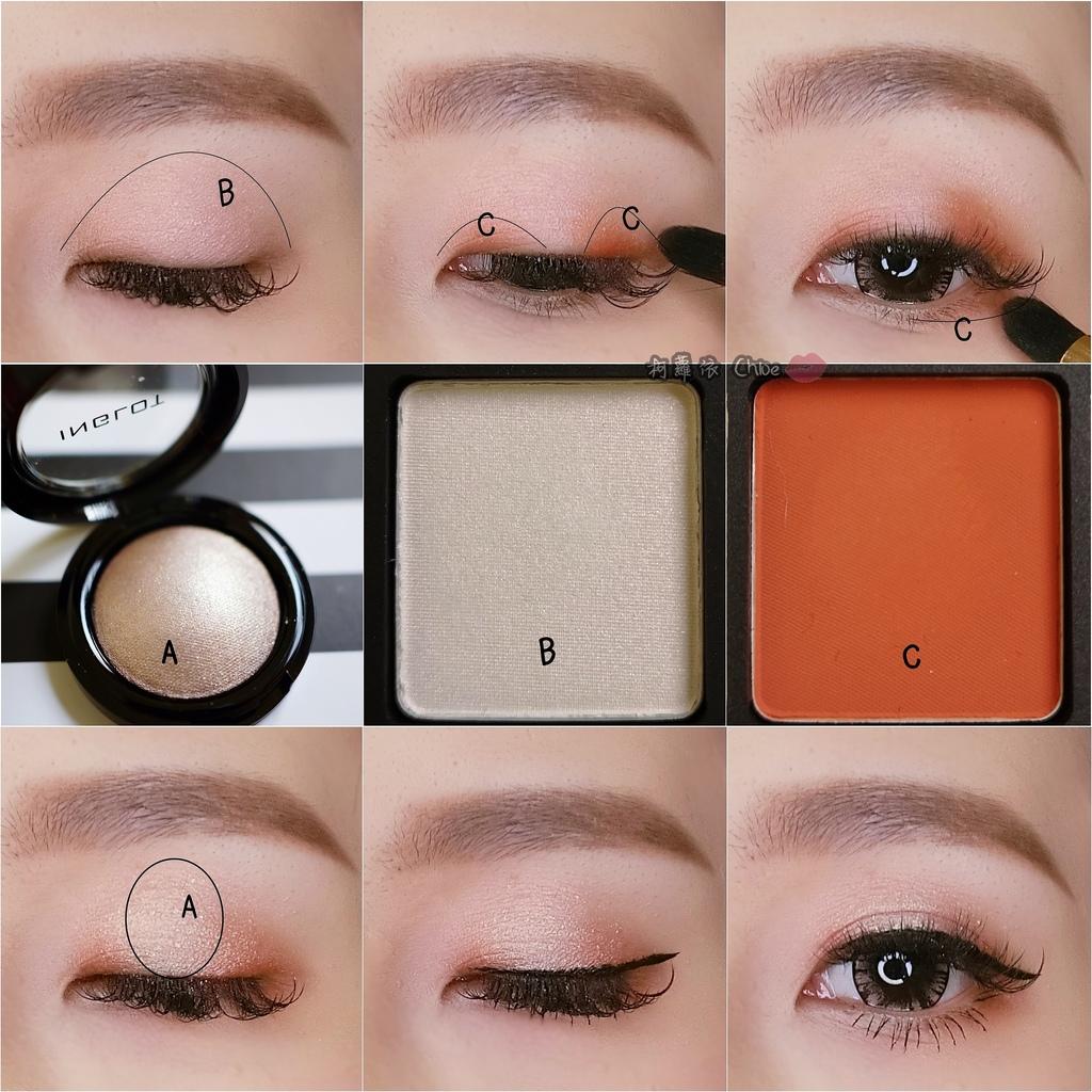 歐美彩妝 來自波蘭INGLOT 超多彩妝組合自由配!兩款眼妝LOOK試色分享18.jpg