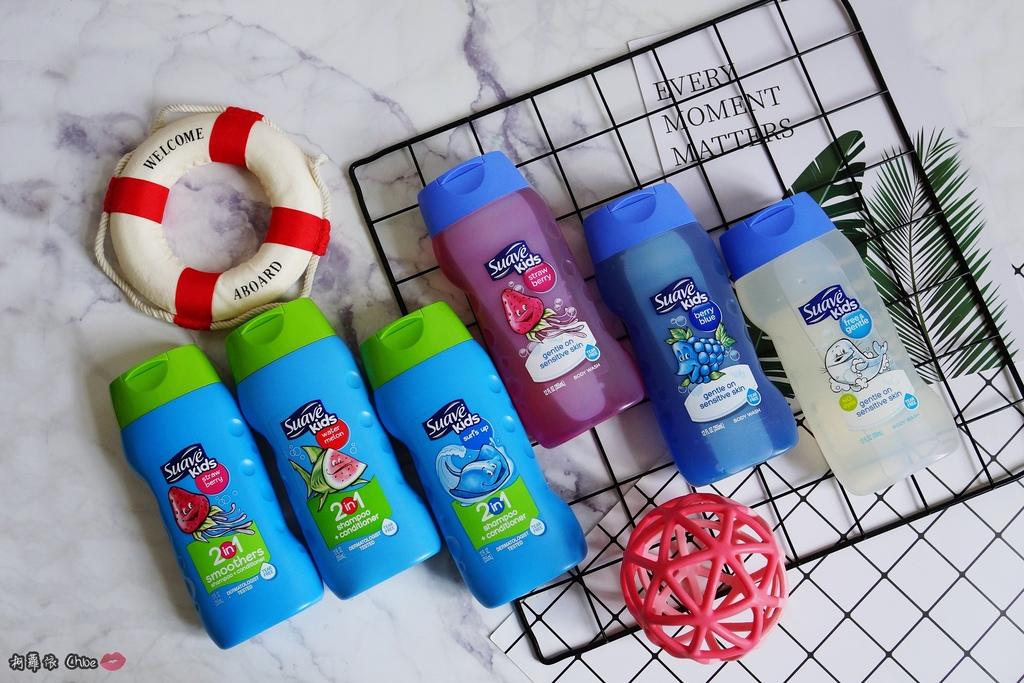 可愛甜甜香味 洗澡好好玩!泡沫細緻溫和好沖洗 Suave Kids 洗護二合一洗髮精洗髮精 沐浴乳 2-12 歲兒童適用1.JPG