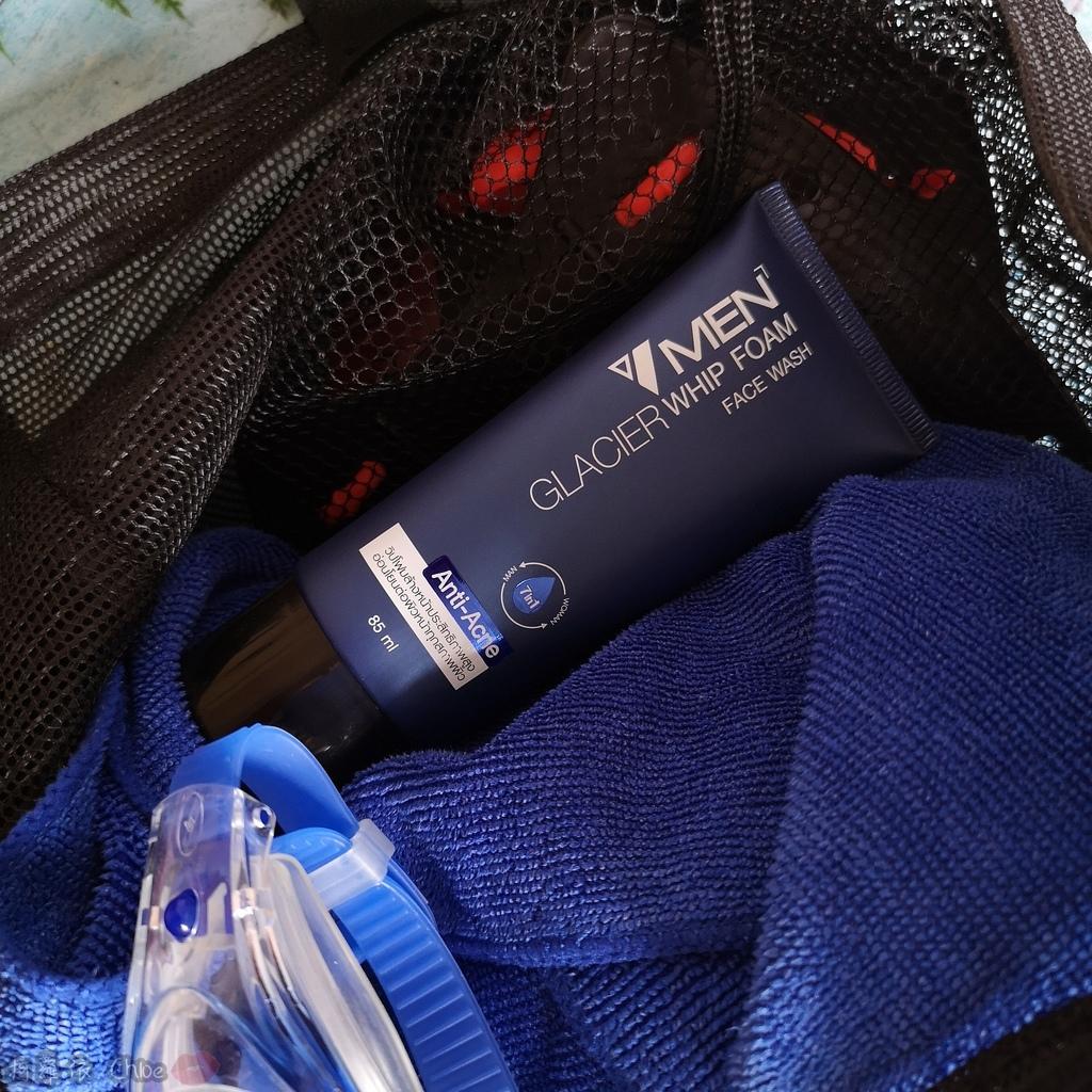 男性保養品 清爽不油膩!泰國VMEN控油洗面乳保濕精華11.jpg