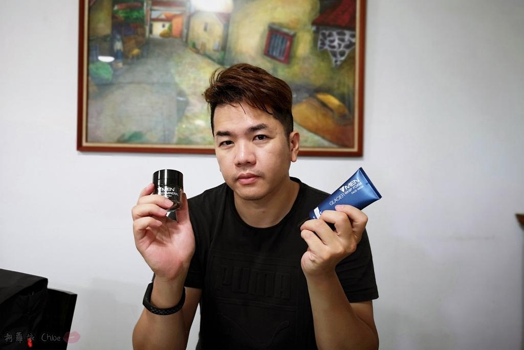 男性保養品 清爽不油膩!泰國VMEN控油洗面乳保濕精華16.jpg