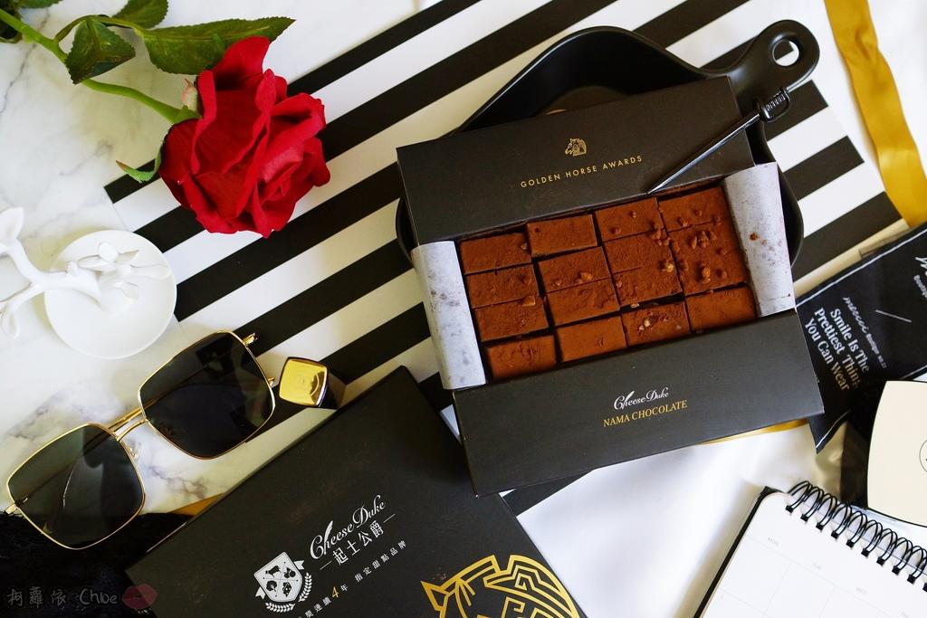 甜點 台南起士公爵 絲滑入口 流金花生巧克力 第55屆金馬指定甜點7.JPG