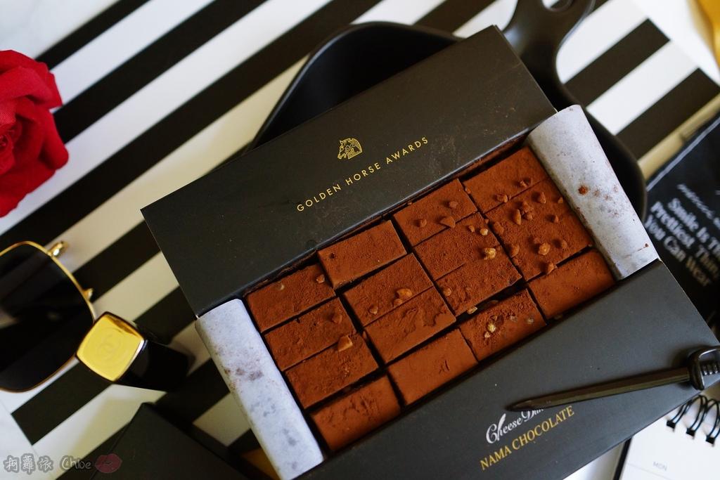 甜點 台南起士公爵 絲滑入口 流金花生巧克力 第55屆金馬指定甜點8.JPG