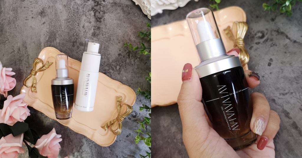 換季保養也能好easy 黑白兩瓶 讓肌膚不鬧脾氣 AVIVA完美多能量精華液+完美修護精華乳.jpg