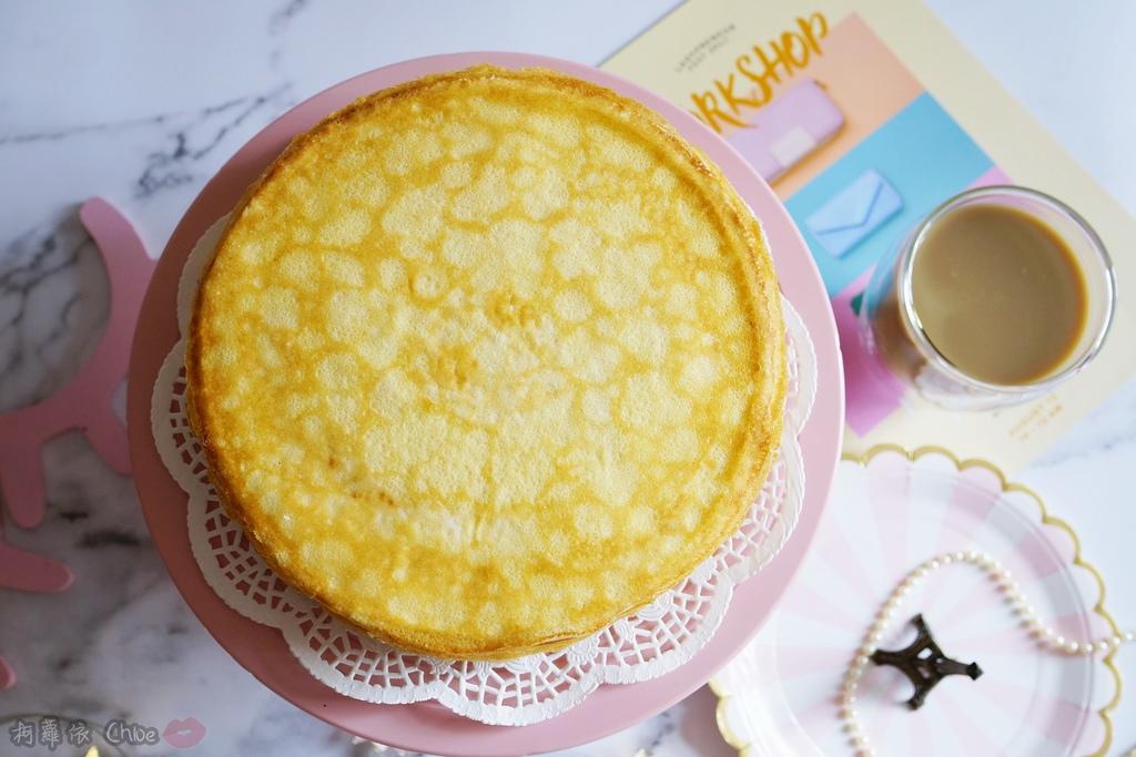 網購千層蛋糕推薦   粉嫩甜蜜不膩口!塔吉特蜂蜜彩虹千層5.JPG