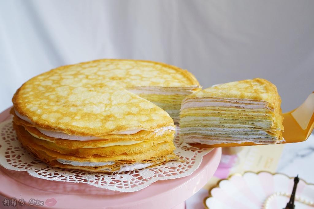 網購千層蛋糕推薦   粉嫩甜蜜不膩口!塔吉特蜂蜜彩虹千層10.JPG