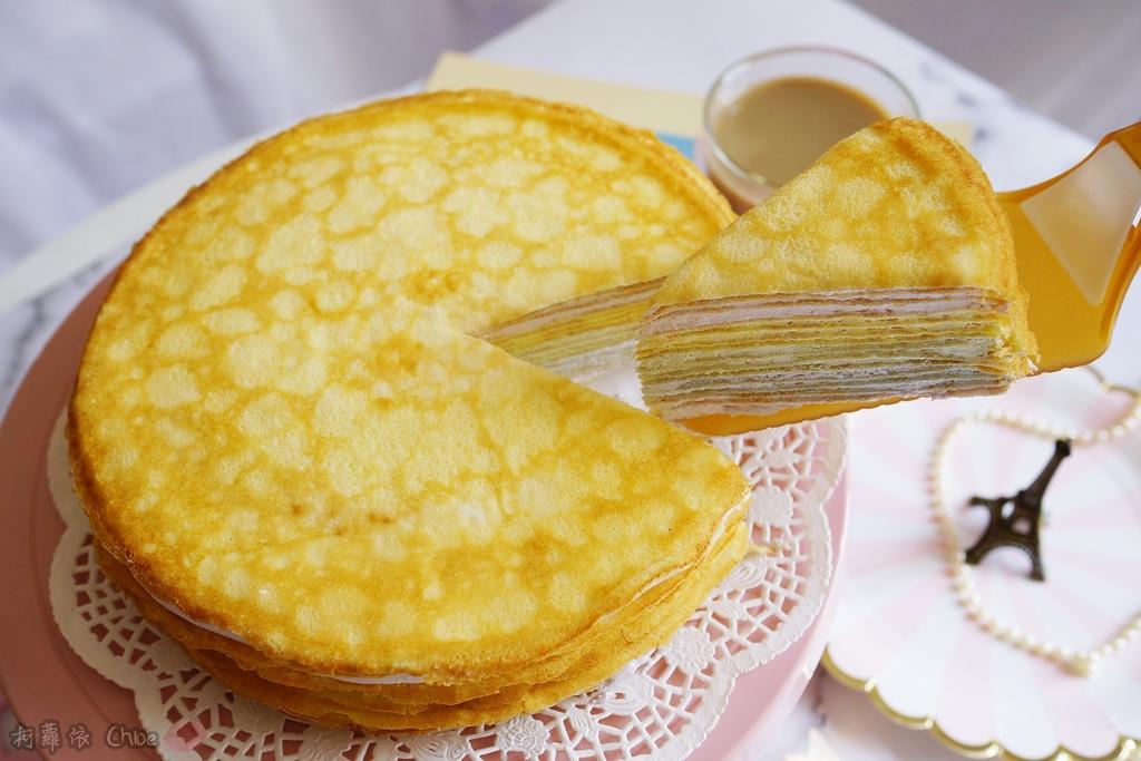 網購千層蛋糕推薦   粉嫩甜蜜不膩口!塔吉特蜂蜜彩虹千層9.JPG