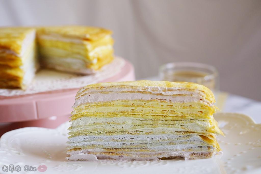 網購千層蛋糕推薦   粉嫩甜蜜不膩口!塔吉特蜂蜜彩虹千層11.JPG