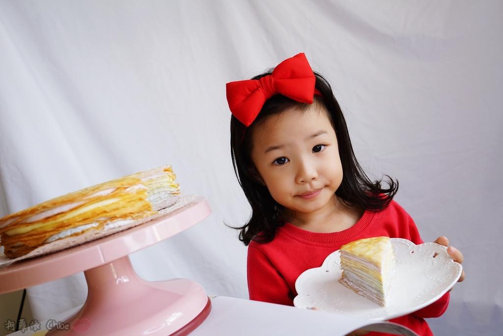 網購千層蛋糕推薦   粉嫩甜蜜不膩口!塔吉特蜂蜜彩虹千層16.JPG