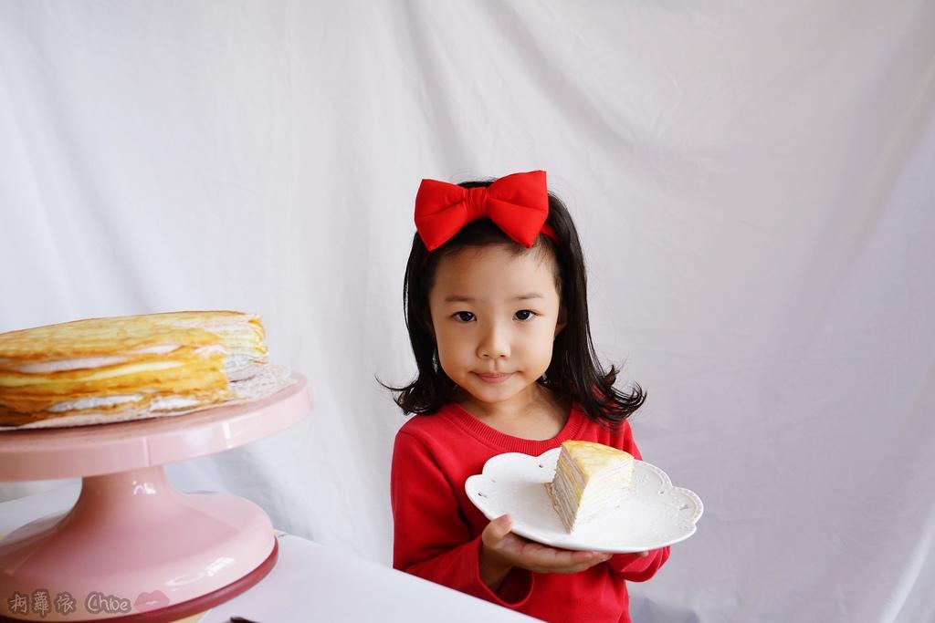 網購千層蛋糕推薦   粉嫩甜蜜不膩口!塔吉特蜂蜜彩虹千層19.JPG