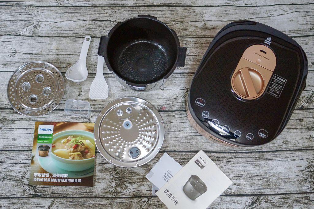 料理推薦 年菜有金小萬就搞定!飛利浦雙重脈衝智慧萬用鍋HD2195、廚神料理機HR77625.jpg
