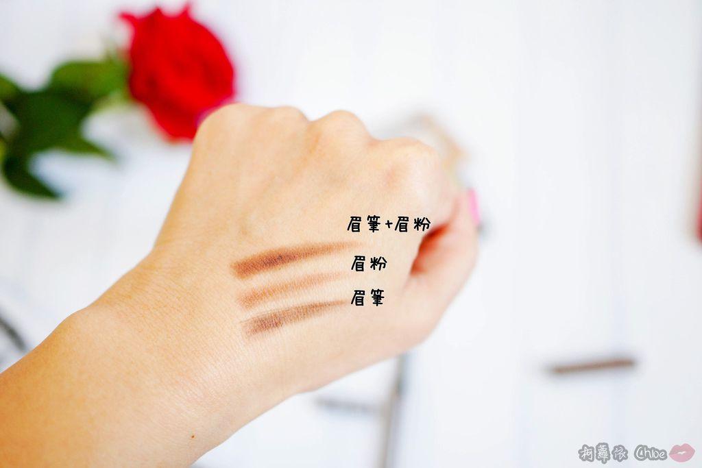彩妝 打造金光閃耀妝容!紐約時尚人氣品牌妮卡NICKA.K NEW YORK 精靈系九色眼影盤三角雙頭眉粉筆10A.jpg