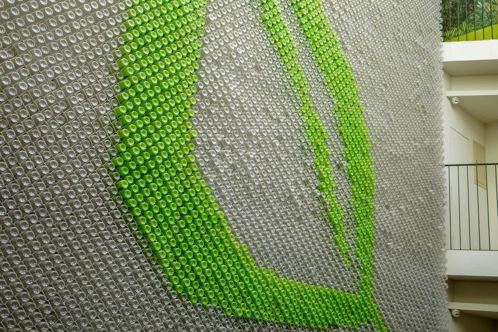 台中草悟道住宿 綠宿行旅Green Hotel 環保旅店榮獲三星級 LED心之光牆放煙火親子互動更有趣13.jpg