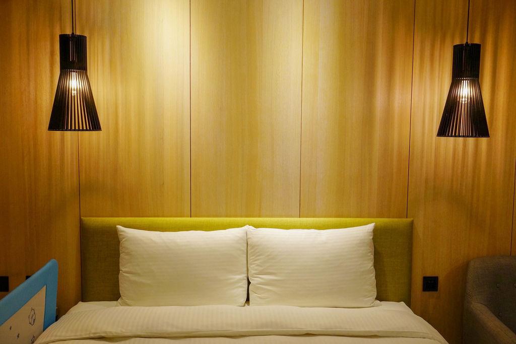 台中草悟道住宿 綠宿行旅Green Hotel 環保旅店榮獲三星級 LED心之光牆放煙火親子互動更有趣36.jpg