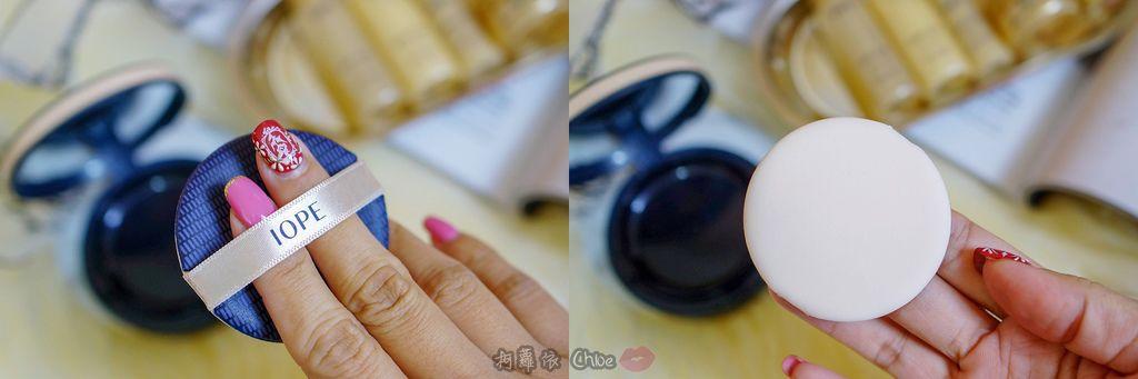 韓劇歐膩般的光潤肌 IOPE艾諾碧 完美恆采持色氣墊粉底 時光金鑰緻顏全套體驗組10.jpg