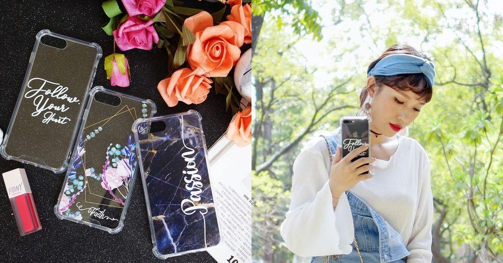穿搭配件 客製化手機殼首選品牌!Dearcase 大理石紋花卉訂製專屬個性化手機殼.jpg