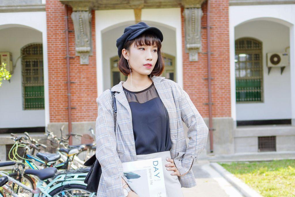 LOOKBOOK 個性女孩穿搭首選 MISS 21 獨特創意方形夾心尖頭全真皮低跟鞋 開箱%26;穿搭分享15.jpg