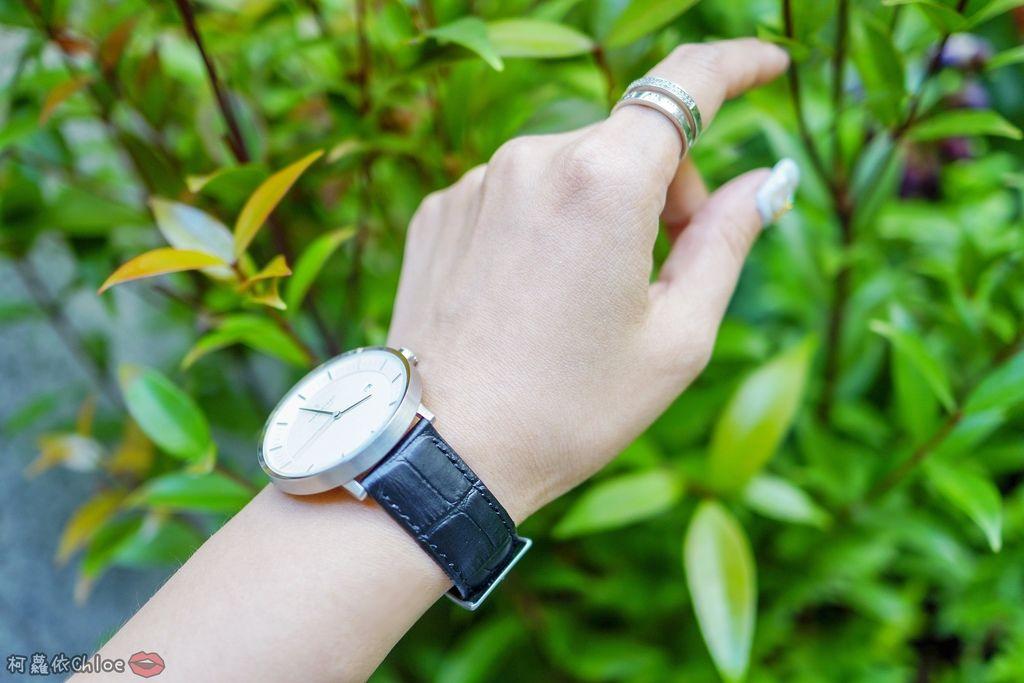 丹麥手錶 來自北歐的極簡時尚Nordgreen 40mm哲學家大錶盤 簡約實戴 我的穿搭好朋友38.jpg