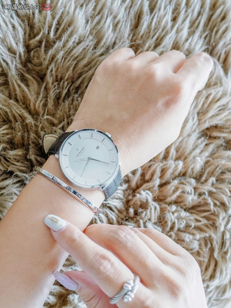 丹麥手錶 來自北歐的極簡時尚Nordgreen 40mm哲學家大錶盤 簡約實戴 我的穿搭好朋友42.jpg